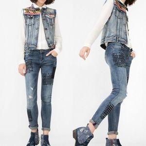 Desigual Denim Dina Jeans sz 30